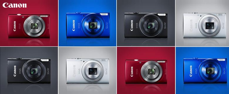 Canon Ixus 170 digitális fényképezőgép