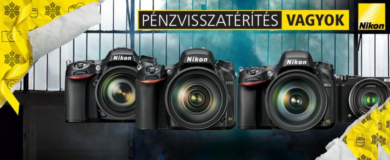 Nikon pénzvisszatérítés
