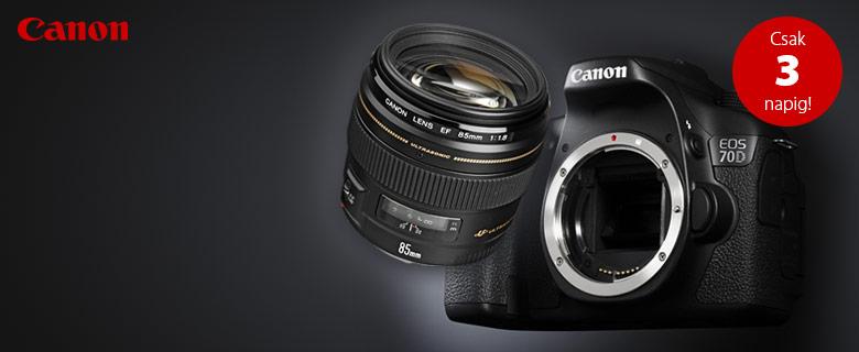 Canon 10% akció, csak 3 napig!